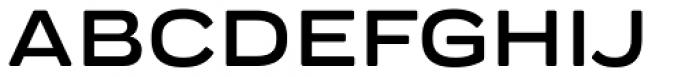 Praktika Round Bold Extended Font UPPERCASE