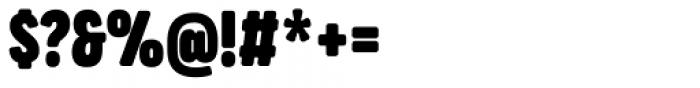 Praktika Round ExtraBold Condensed Font OTHER CHARS