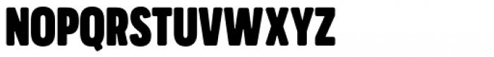 Praktika Round ExtraBold Condensed Font UPPERCASE