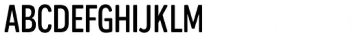 Praktika Round Medium Condensed Font UPPERCASE