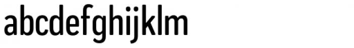 Praktika Round Medium Condensed Font LOWERCASE