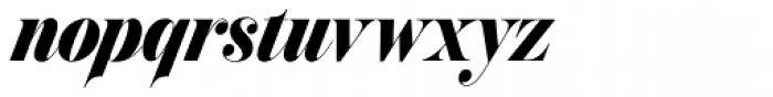 Prangs Black Font LOWERCASE
