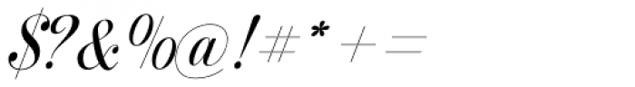 Prangs Regular Font OTHER CHARS