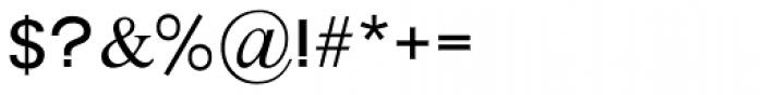 Prat MF Medium Font OTHER CHARS