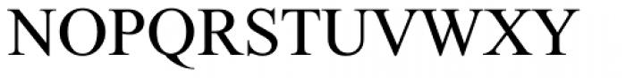 Prat MF Medium Font UPPERCASE