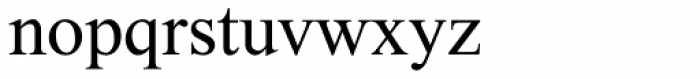 Prat MF Medium Font LOWERCASE