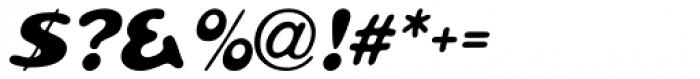 Pratfall Oblique Font OTHER CHARS
