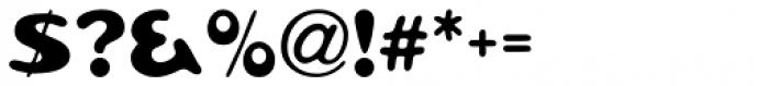 Pratfall Regular Font OTHER CHARS
