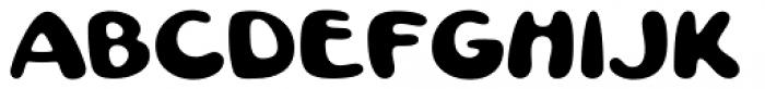Pratfall Regular Font UPPERCASE