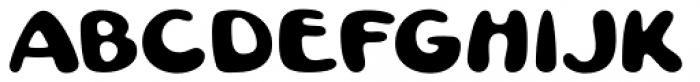 Pratfall Regular Font LOWERCASE