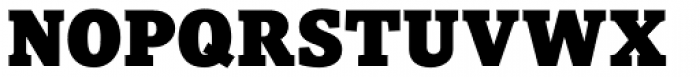 Pratt Nova Black Font UPPERCASE