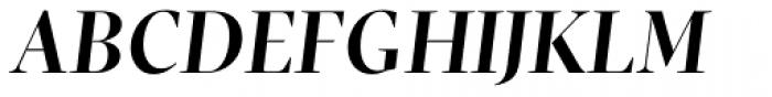 Pratt Nova Fine Bold Italic Font UPPERCASE