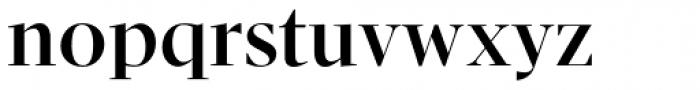 Pratt Nova Fine Bold Font LOWERCASE