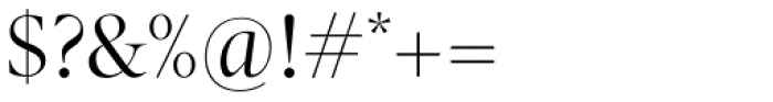 Pratt Nova Fine Font OTHER CHARS