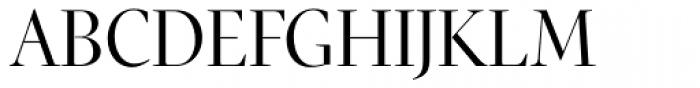 Pratt Nova Fine Font UPPERCASE