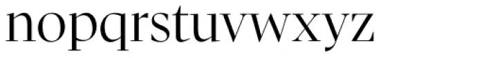 Pratt Nova Fine Font LOWERCASE