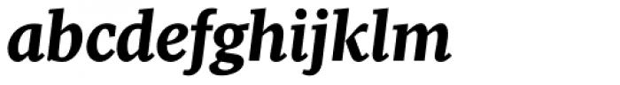 Pratt Nova Heavy Italic Font LOWERCASE