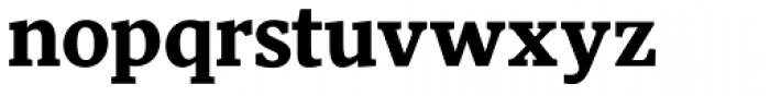 Pratt Nova Heavy Font LOWERCASE