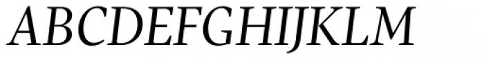 Pratt Nova Italic Font UPPERCASE