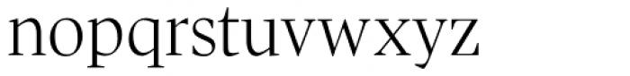 Pratt Nova Light Font LOWERCASE