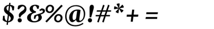 Pratt Nova Text Bold Italic Font OTHER CHARS