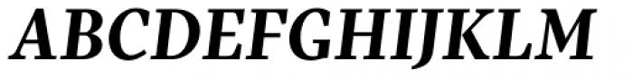 Pratt Nova Text Bold Italic Font UPPERCASE
