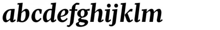Pratt Nova Text Bold Italic Font LOWERCASE