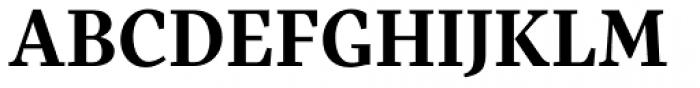 Pratt Nova Text Bold Font UPPERCASE