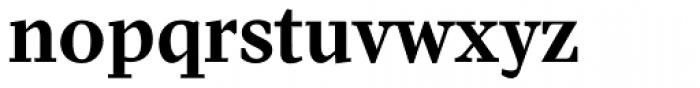 Pratt Nova Text Bold Font LOWERCASE