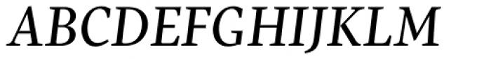 Pratt Nova Text Italic Font UPPERCASE