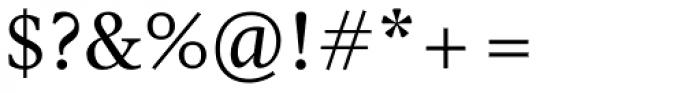 Pratt Nova Text Font OTHER CHARS