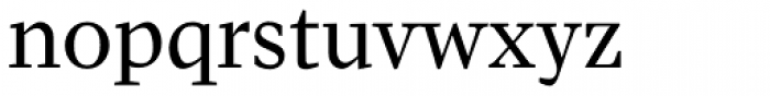 Pratt Nova Text Font LOWERCASE