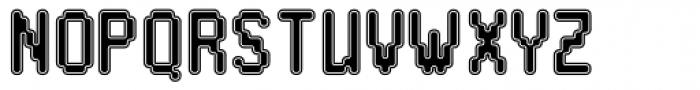 Praxis Collegiate Font UPPERCASE