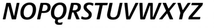 Praxis Next SemiBold Italic Font UPPERCASE