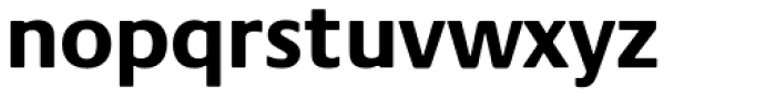 Praxis Pro Bold Font LOWERCASE