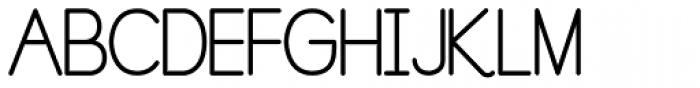 Pre Cursive Regular Font UPPERCASE