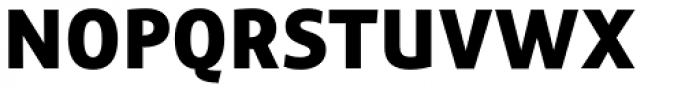 Precious Sans Two Black Font UPPERCASE