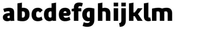 Precious Sans Two Black Font LOWERCASE