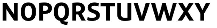 Precious Sans Two Bold Font UPPERCASE