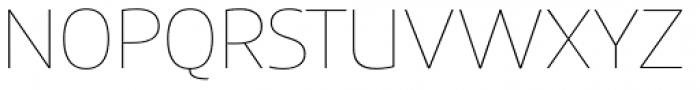 Precious Sans Two Thin Font UPPERCASE