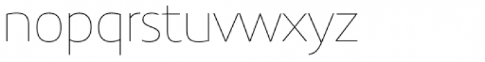 Precious Sans Two Thin Font LOWERCASE