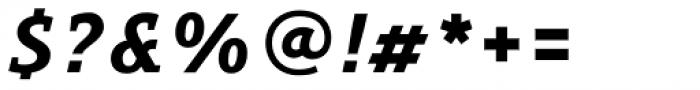 Precious Serif Black Italic Font OTHER CHARS