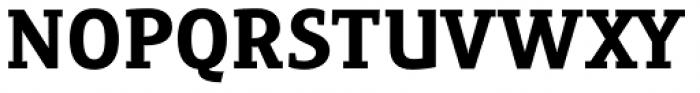 Precious Serif Black Font UPPERCASE