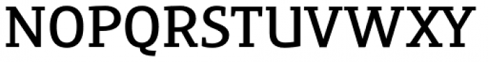 Precious Serif Demi Bold Font UPPERCASE