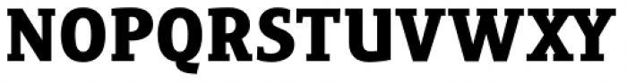 Precious Serif Ultra Black Font UPPERCASE