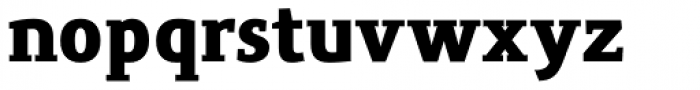 Precious Serif Ultra Black Font LOWERCASE
