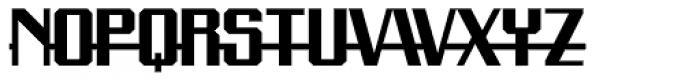 Precision Font UPPERCASE