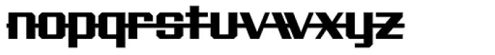 Precision Font LOWERCASE