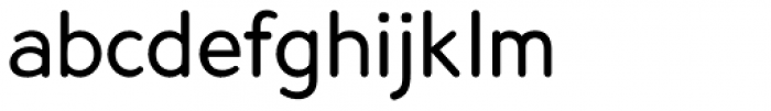 Predicate Rounded Font LOWERCASE