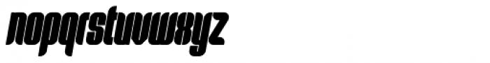 Predictor Bold Oblique Font LOWERCASE